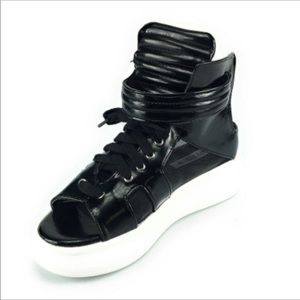 Shoes - New High Top Adjustable Strap Sandal Sneakers